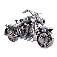 TOP COOL ART Vintage METAL Pure hand Retro iron Classic motorcycle model HOME office BAR RETRO TOP Decor art