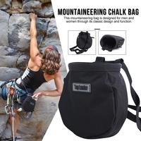 Saco de giz escalada ao ar livre saco de pó de magnésio bolsos caminhadas à prova dwaterproof água saco de pó de mão seca grande o suficiente