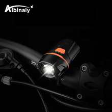 USB rechargeable bicycle light super bright 6  lighting mode LED bike light waterproof easy to install suitable for night riding usb charging led bicycle light 5 light mode highlight waterproof warning bike light to send free usb cable suit for night riding