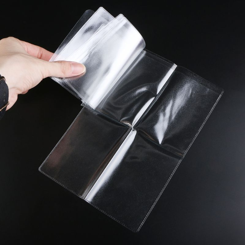 PVC transparent documents cover russian driver/'s license case protect ID card UK