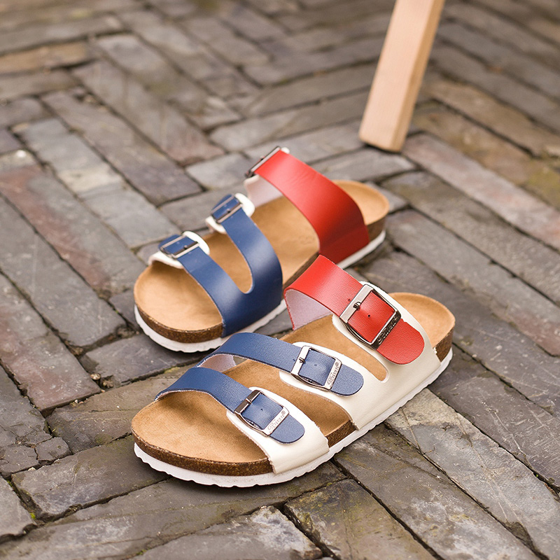 Вьетнамки 2018 летние мягкие пробковые шлепанцы Босоножки, шлепанцы Для женщин любителей Повседневное пляжная обувь Sandalias zapatos mujer