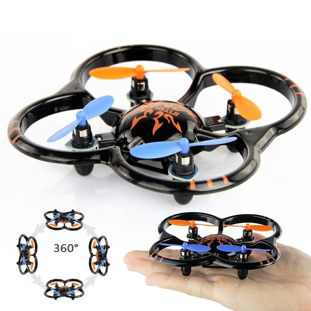 Новый U207 6 Оси Гироскопа RC Вертолет 4CH Радио Управления мини Quadcopter НЛО Игрушки СВЕТОДИОДНЫЕ Фонари Черный Оранжевый Цвет