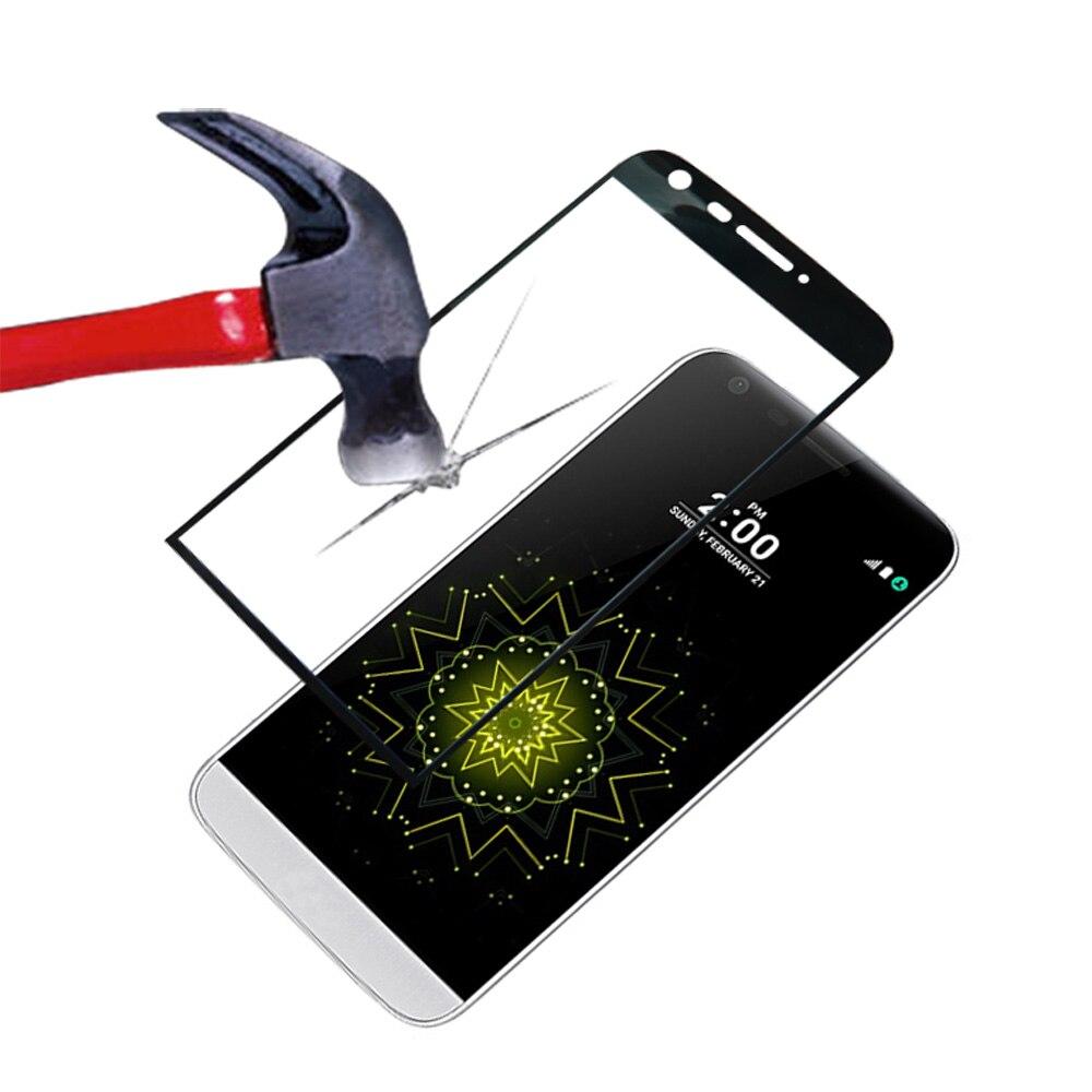 3D Curved Edge Full Cover Premium Tempered Glass Screen Protector Cover Case Film For Blackberry Priv/LG G5