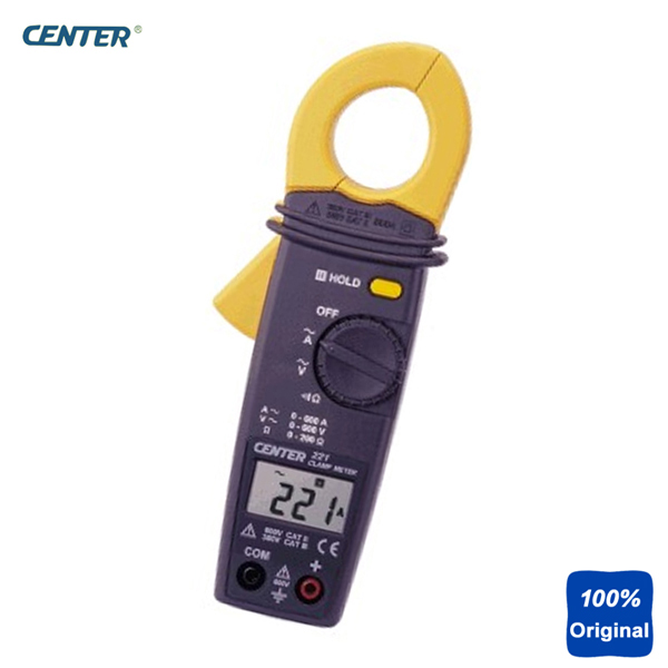 CENTER-221 Auto Ranging Pocket Size Low Cost Clamp Meter platinor platinor 50200 221