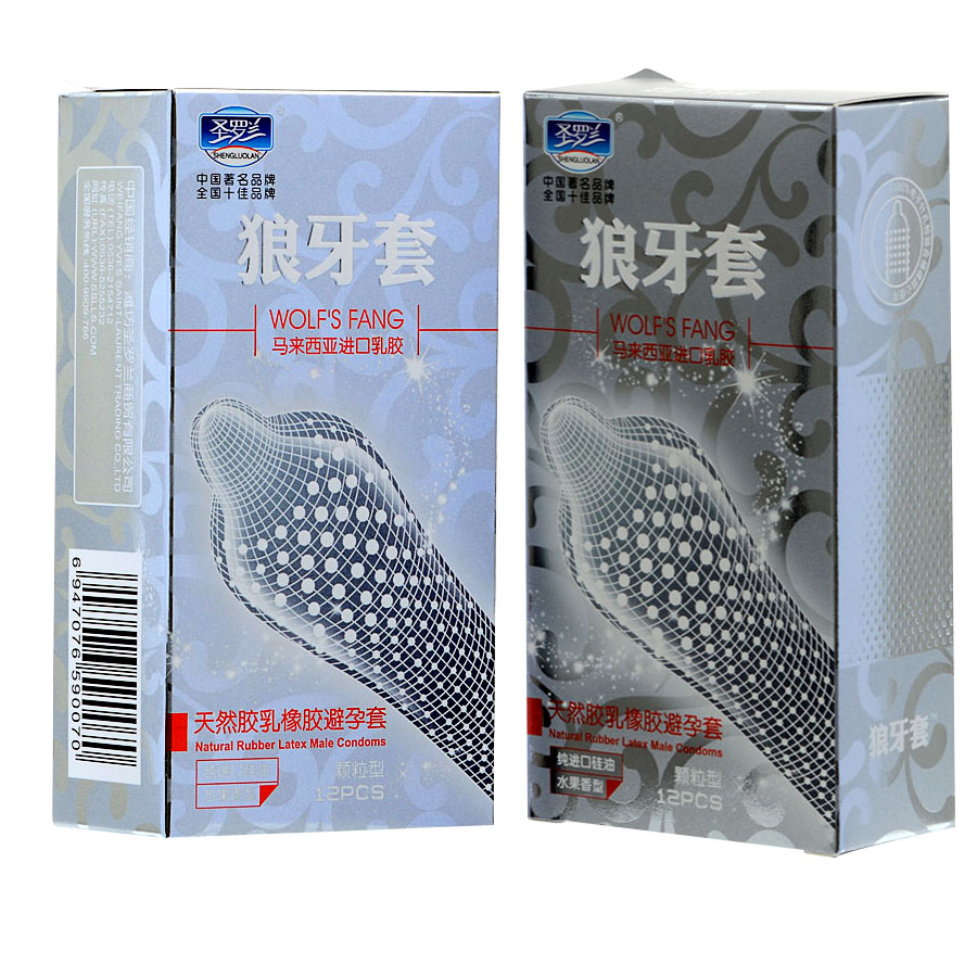 24Pcs Lot High Quality Big Particle 3D Spike Dotted Ribbed G Spot Latex Condoms For Men
