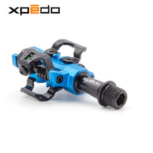 Wellgo Xpedo MTB Bicycle high quality pedals fully enclosed 3 bearing professional racing Lock pedal ultralight 9/16 XMF10AC