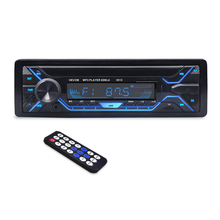 3010 차 MP3 Player 12 볼트 Blue tooth V2.0 차 Stereo Audio In dash Single 1 Din FM 수신기 aux Input MP3 MMC WMA Radio Player