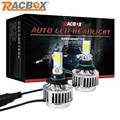 RACBOX 33 Вт Фары Автомобиля Фары Авто Преобразования УДАР Комплект 9006 HB4 3000LM 12 В Белый DRL Противотуманная Фара Лампа С СИД CREE чипы
