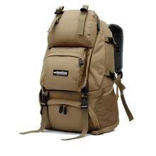 León local mochila mochila militar táctico bolsa de viaje molle bolso que acampa senderismo trekking escalada al aire libre del alpinismo mochila