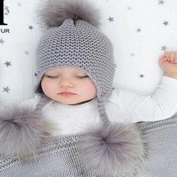 כובעי חורף לילדים 6 חודשים עד 3 שנים 1