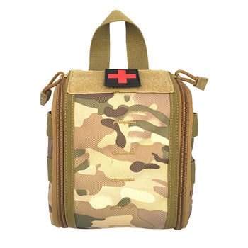 Emergency First Aid Kit Pouch EDC Hunting Utility Belt Bag Tactical Molle Medical Kit Pouch Survival Gear Bags military molle admin pouch tactical multi medical kit bag utility tool belt edc pouch for camping hiking hunting 2018