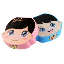 Storage Case Souvenir Tooth-Box Wooden Milk Umbilical-Organizer Baby Gifts Girls Teeth