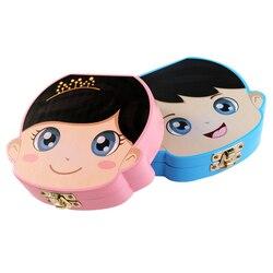 Wooden Baby Tooth Box English /Spanish /Portuguese Milk Teeth Umbilical Organizer Storage Boys Girls Souvenir Case Baby Gifts