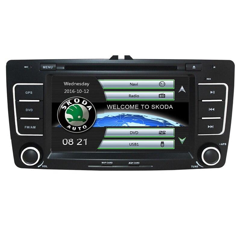Free Ship Car DVD Player GPS Navigation System for Skoda Octavia Laura 2004 2005 2006 2007 2008 2009 2010 2011 2012 2013 RDS