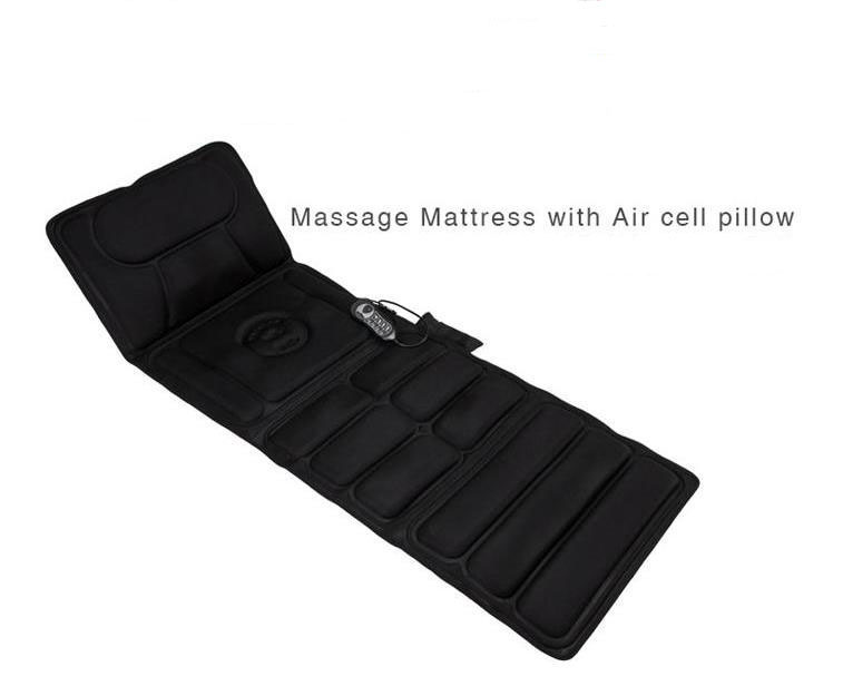 Whole body massage mattress multifunctional electric vibrating massage health care equipment back cushion for leaning on prostate enhance renal function therapeutic massage health devices male vibrating for man s disease