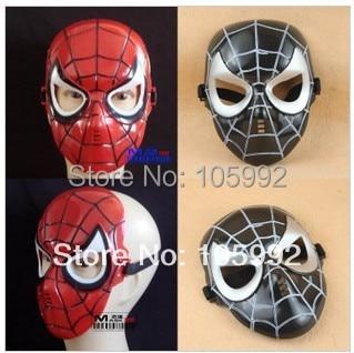 Маски для Хэллоуина, реквизит, монолитная маска дьявола, кричащая маска или маска Человека-паука, 10 шт./партия