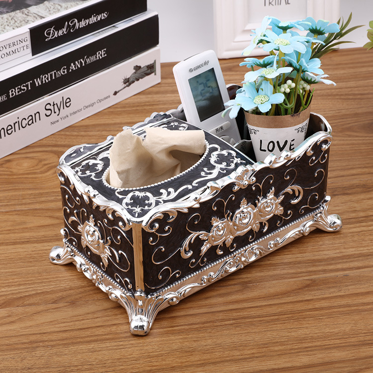 Tissue Box Universal Paper Rack Table Accessories Home Office Facial Case Holder