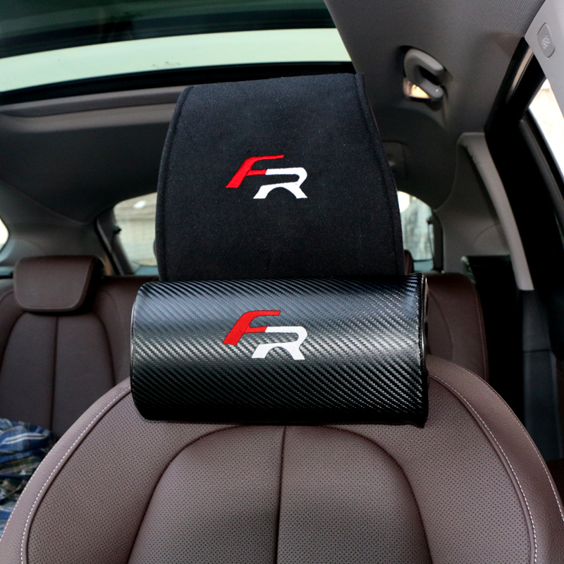 Image 4 - car headrest cover fit for Seat FR+ Leon Ibiza cupra Altea Belt Racing-in Car Tax Disc Holders from Automobiles & Motorcycles