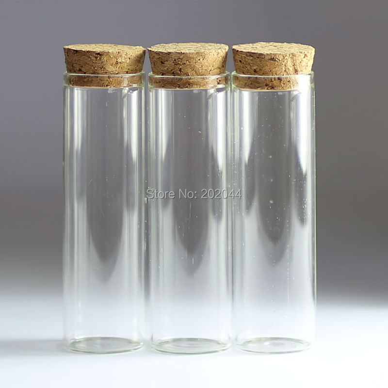30pcs 50ml 30 100mm in small glass bottles vials for Decorative vials