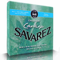 Série Savarez 510 Cantiga nouveau Cristal/Alliance/Cantiga Tension dure ensemble complet 510MJ