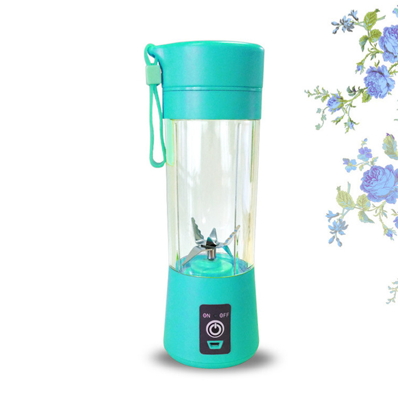 400ml Portable Personal Juice Blender And USB Juicer Cup With Multi-function For Smoothies And Baby Food 3