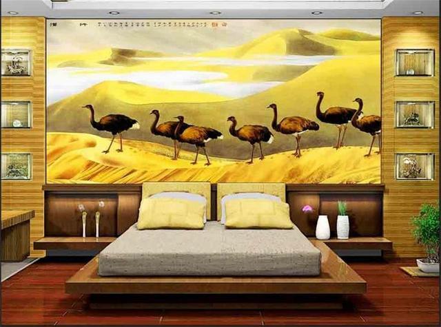 3D Photo wallpaper mural home decor background wallpaper livingroom ...