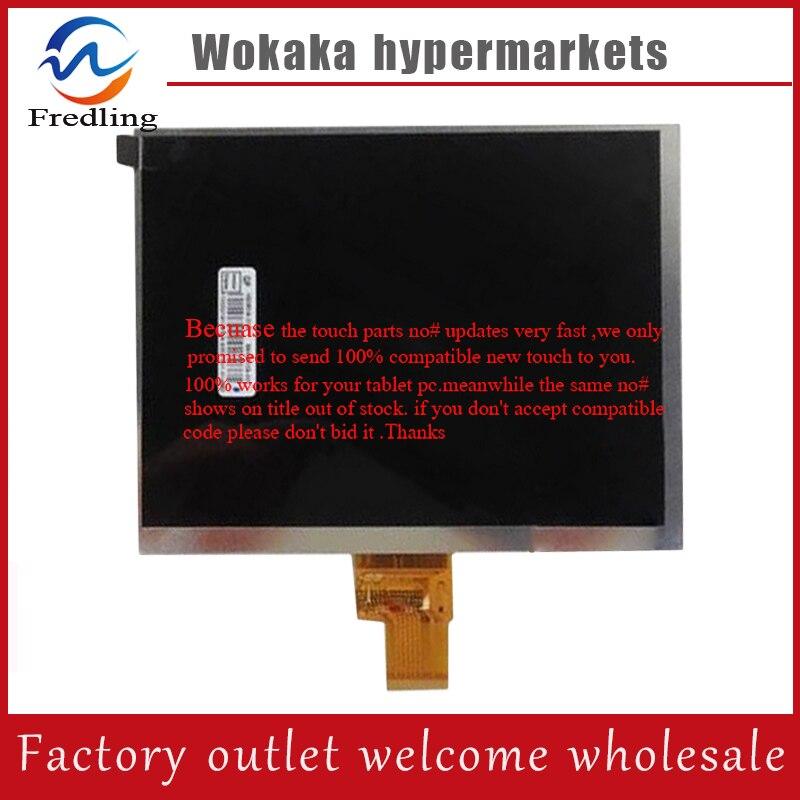 LCD Affichage Matrice intérieure Remplacement Du Panneau de L'écran 8 Prestigio PMP7480D3G_QUAD MULTIPAD 4 ULTIME 8.0 3G TABLET Livraison Gratuite