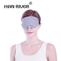 Wysokiej jakości i wygodne bawełniane oddychające cieniowania Hot cold eye contact regulowany pozycjonowanie kości oko maska snu