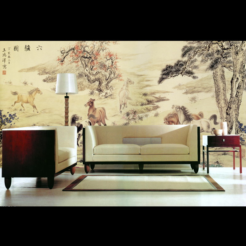 Custom Environmental 3D stereoscopic large mural wallpaper sofa TV background wall paper classical Chinese style painting 3d stereoscopic large mural custom wallpaper living room tv backdrop wall paper bedroom wall painting cartoon film kung fu panda