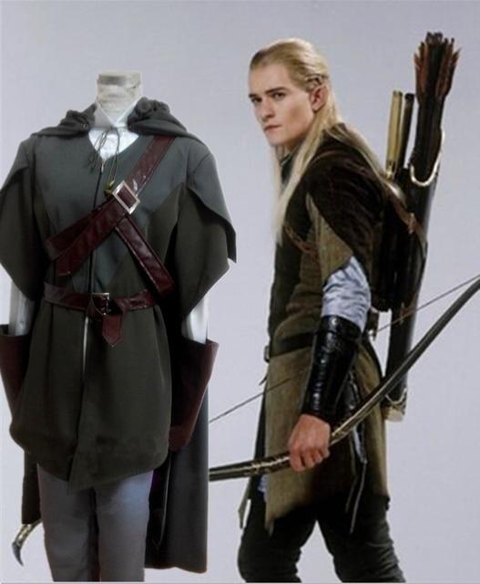 Halloween Cosplay Party Dress Legolas Retro The Hobbit ...
