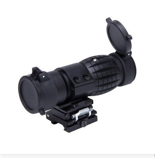 Tactical 3x magnifier Riflescope Airsoft 3X30mm Magnifying Scope Focus Adjusted With Flip Up Mount For Hunting 3x magnifying magnifier