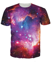 Unisex Women Men 3d Summer T-Shirt Cosmic Forces T-Shirt The Night And Setar Printed Tee Shirt Galaxy T Shirts Top S-5XL R2898