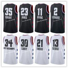 62b4139ed00 #23 LeBron James #34 Giannis Antetokounmpo #11 Kyrie Irving #30 Stephen  Curry