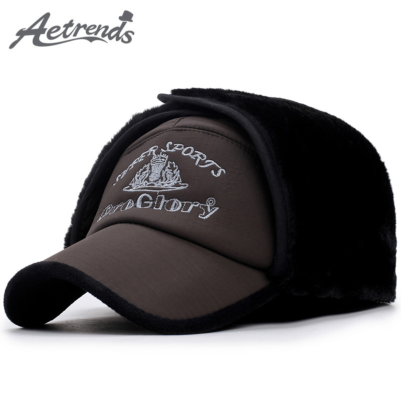 Товар  AETRENDS  12 Designs! 2017 New Winter Bomber Hats for Men ... 3ae4fb7cf7d