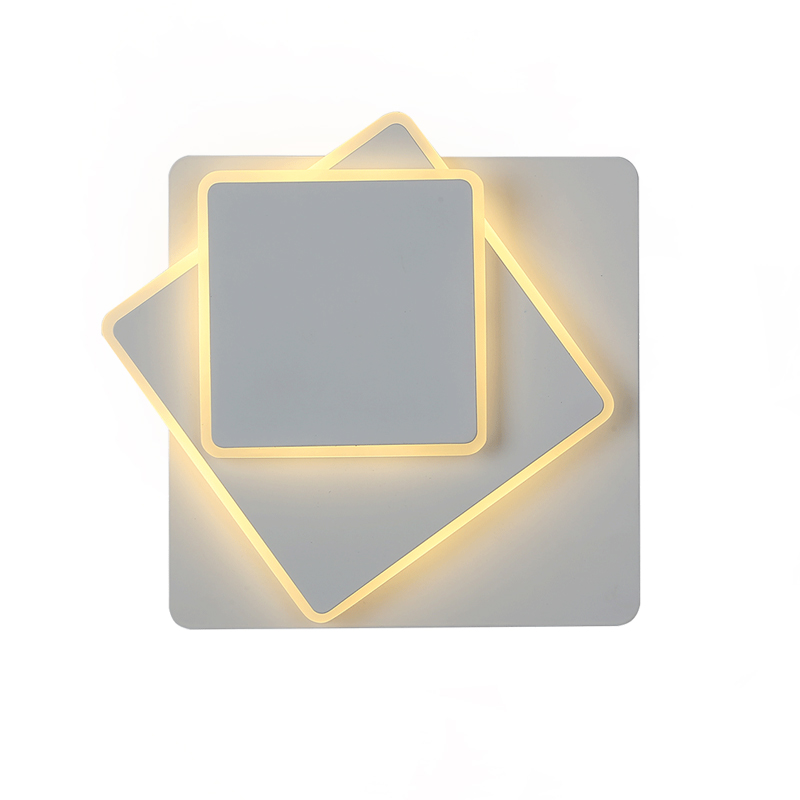 Nordic Square Led Wall Light Free Rotation Bedroom Bedside Wall Lamp Modern Individuality Loft Parlor Wall Sconce Free ShippingNordic Square Led Wall Light Free Rotation Bedroom Bedside Wall Lamp Modern Individuality Loft Parlor Wall Sconce Free Shipping