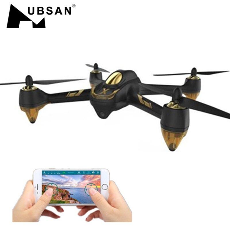 Em Estoque H501A AR WI-FI FPV Hubsan X4 Brushless Com 1080 P HD Câmera GPS Waypoint RC Quadcopter RTF