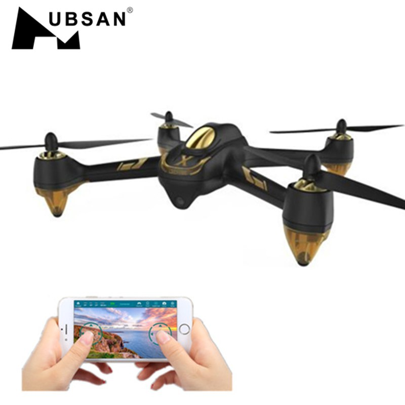 In Stock Hubsan X4 AIR H501A WIFI FPV Brushless With 1080P HD Camera GPS Waypoint RC Quadcopter RTF 7 4v 2700mah 10c battery 1 in 3 cable usb charger set for hubsan h501s h501c x4 rc quadcopter