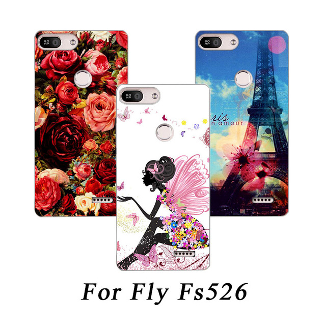 High Quality Patterns TPU SOFT Silicone Printed case For Fly Power Plus 2  FS526 Painting phone 9c508e427d59
