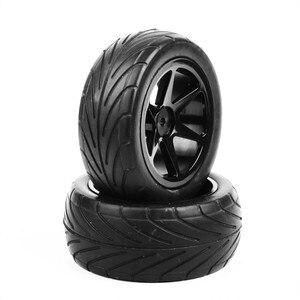 Image 5 - 90mm RC 1/10 도로 버기 타이어 바퀴에 HSP HPI 레이싱 부품 액세서리에 대 한 12mm 16 진수 4pcs 설정