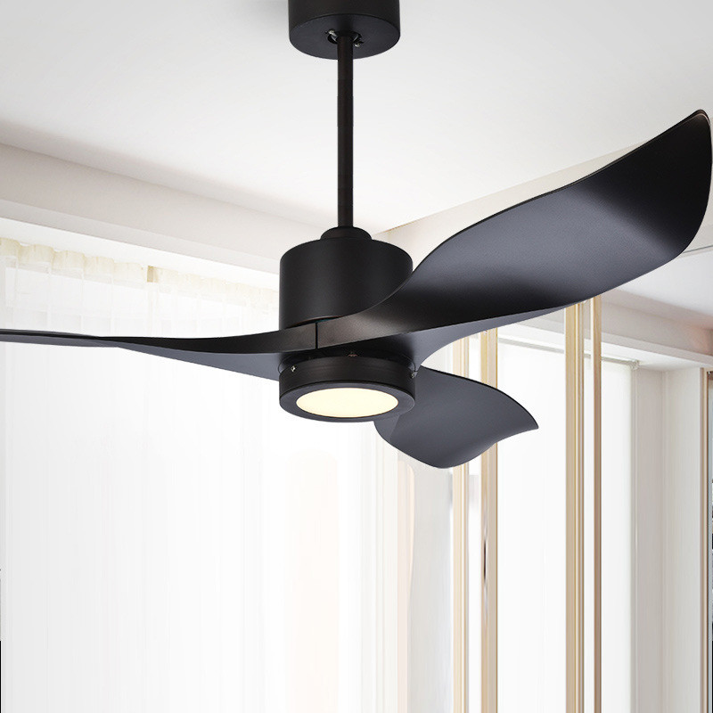 Nordic Ceiling Fan Light DC High End Living Room Dining
