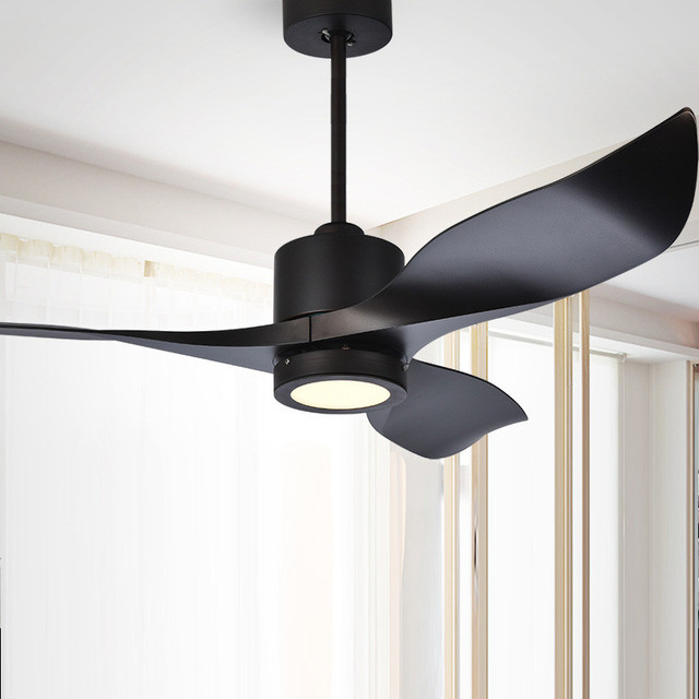 Nordic Ceiling Fan Light Dc High End Living Room Dining Modern Retro Coffee Variable Sd Lamp Free Shipping