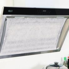 10 шт./пакет новая кухонная вытяжка маслопоглощающая хлопок Нетканый фильтр Бумага Кухня высокое Температура маслопоглощающая Бумага