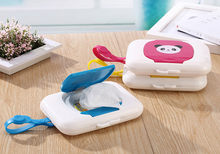 Baby Travel Wipe Case Child Wet Wipes Box Changing Dispenser Small and portable Storage Holder/es(China)