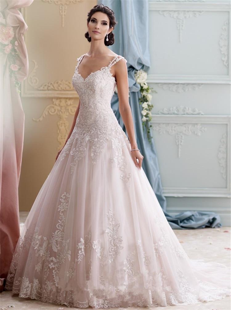 Summer Style Lace Backless Vestido De Noiva Princesa Bride Dresses ...