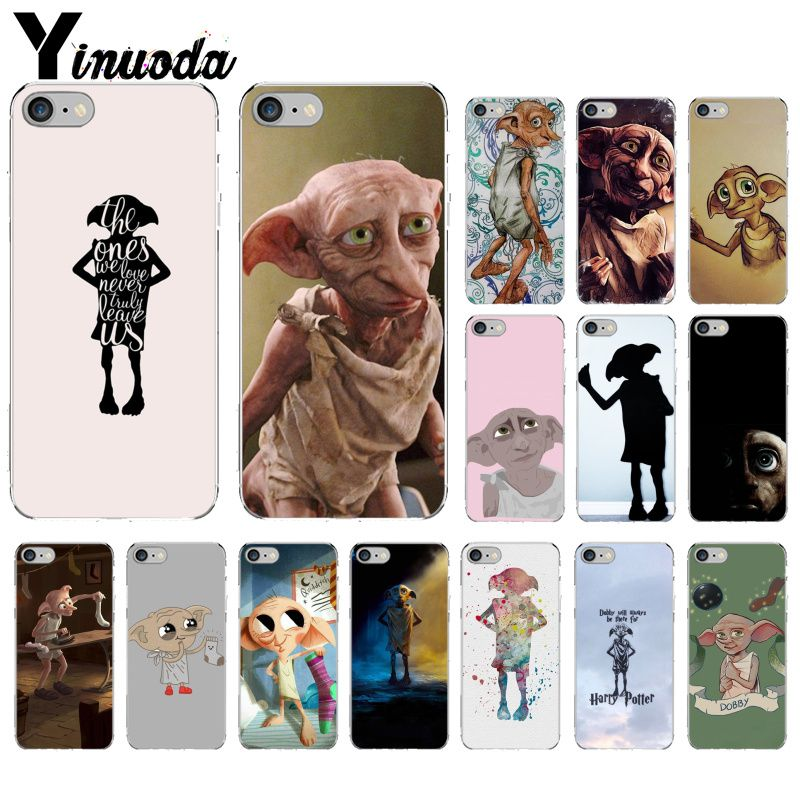 Yinuoda harry potter movie Dobby Unique Design Phone Cover for Apple iPhone 8 7 6 6S Plus X XS MAX 5 5S SE XR Mobile Cases image