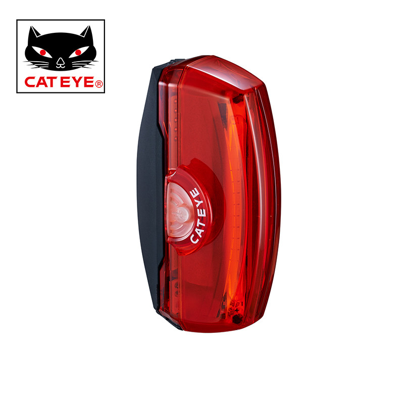 CATEYE TL LD700 Bicycle Taillight Usb rechargeable COB LED Bike Lights Tail Lights Mountain Bike Warning Light Cycling Equipment