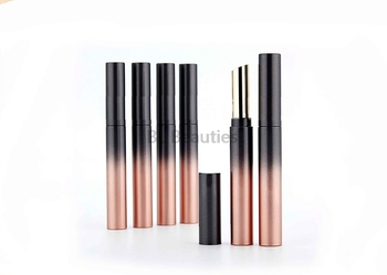 200pcs/lot 9mm Lipstick Empty Tube Lip Balm Refillable Reusable Bottles Makeup Tool Cosmetic Containers