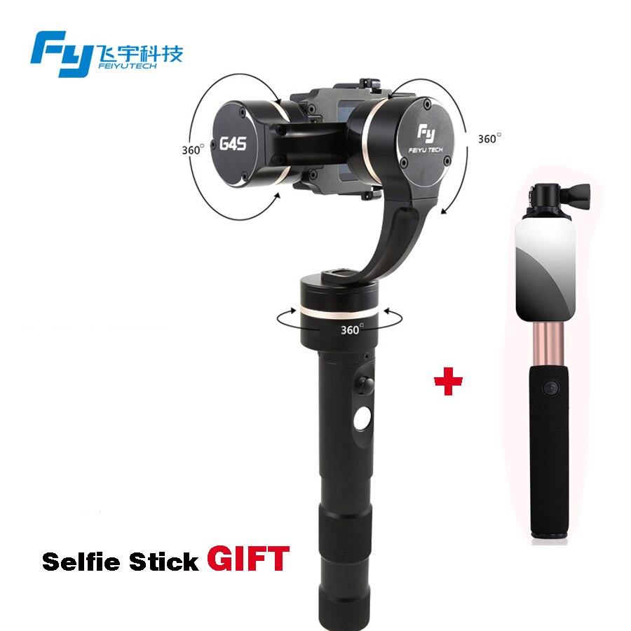 FEIYU fy G4S GoPro HERO 4 / HERO 3+ / HERO 3 3 axis handheld gimbal stabilizer 3-axis Gimbal steadicam