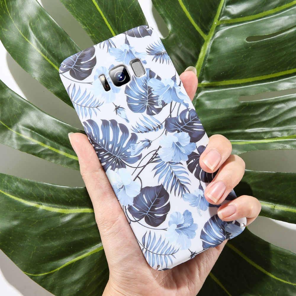 KISSCASE простой чехол для телефона для samsung Galaxy S9 S8 плюс S7edge примечание 9 8 A3 A5 A7 J3 J5 2017 A6 A8 J6 J8 плюс 2018 Жесткий PC Обложка чехол на galaxy a7 2018