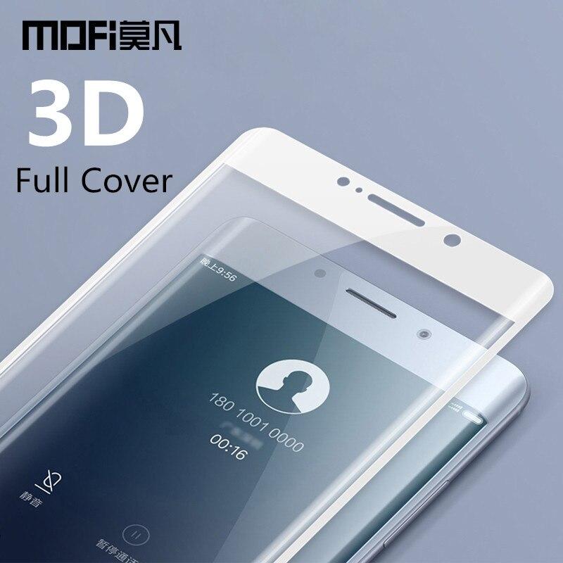 Xiaomi mi note 2 en verre trempé MOFi d'origine xiaomi mi note 2 protecteur d'écran 3D pleine couverture xiaomi mi verre note2 film